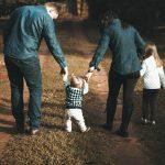 gåtur familie