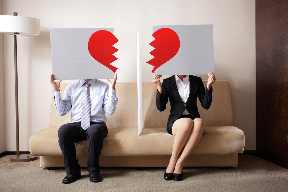 Hvordan skal man håndtere Skilsmisse